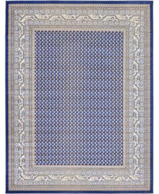 Axbridge Axb1 Blue 9' x 12' Area Rug