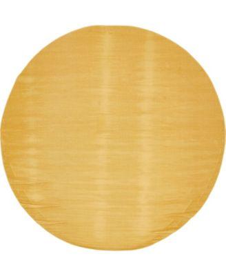 Axbridge Axb3 Gold 8' x 8' Round Area Rug