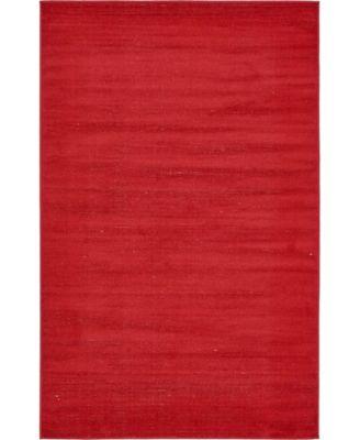 Axbridge Axb3 Red 5' x 8' Area Rug