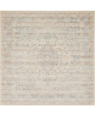 Caan Can2 Taupe 8' x 8' Square Area Rug