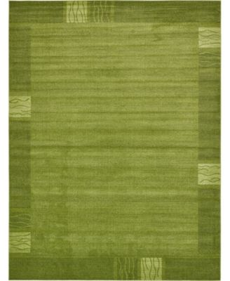 Lyon Lyo1 Green 10' x 13' Area Rug