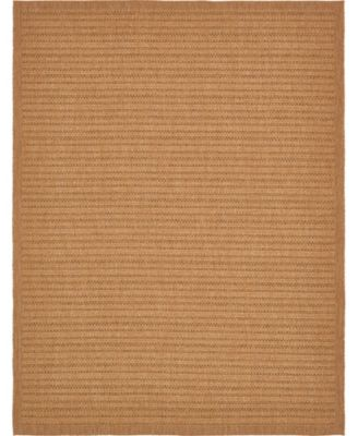 Pashio Pas6 Light Brown 9' x 12' Area Rug