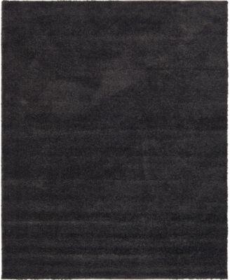 Uno Uno1 Charcoal 8' x 10' Area Rug