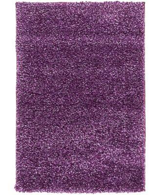 """Uno Uno1 Violet 2' 2"""" x 3' Area Rug"""