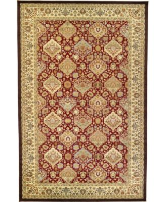 """Passage Psg7 Red 10' 6"""" x 16' 5"""" Area Rug"""