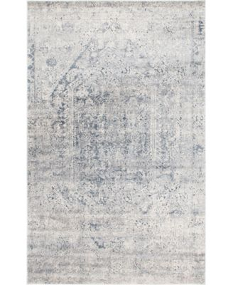 Odette Ode1 Gray 6' x 9' Area Rug
