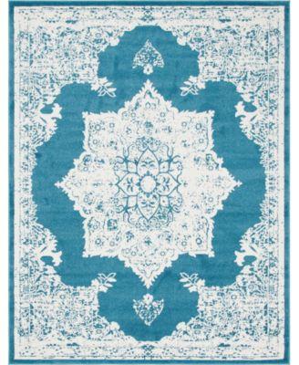 Mishti Mis6 Blue 8' x 10' Area Rug
