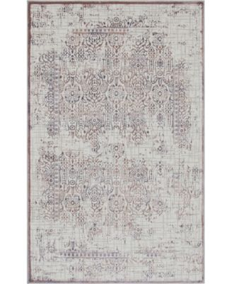 Aitana Ait2 Violet 5' x 8' Area Rug