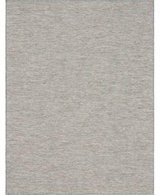"""Pashio Pas8 Light Gray 9' 4"""" x 12' Area Rug"""