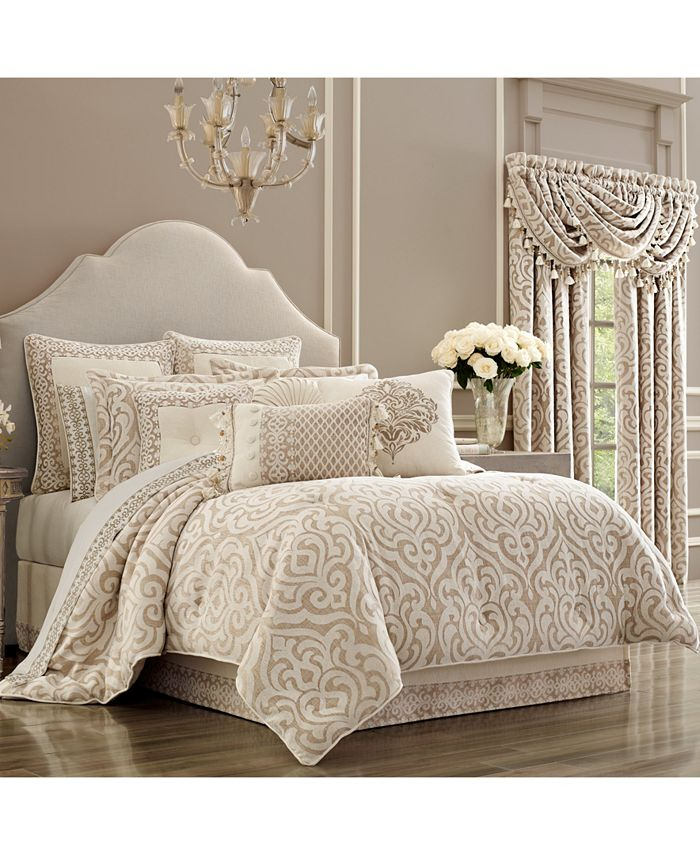 J Queen New York - Milano Sand California King Comforter Set
