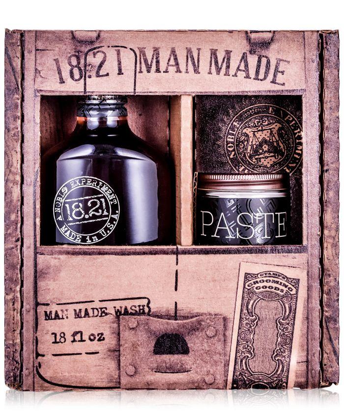 18.21 Man Made - 2-Pc. Wash & Paste Gift Set