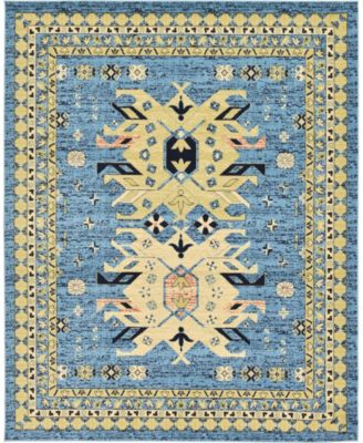 Charvi Chr1 Light Blue 8' x 10' Area Rug