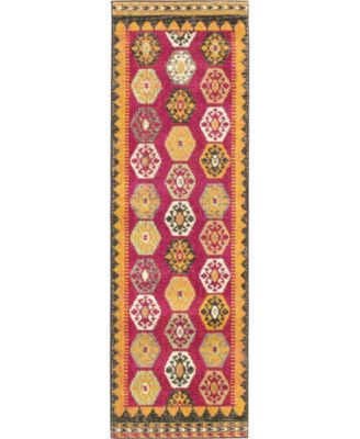 """CLOSEOUT! Arcata Arc8 Red 2' 2"""" x 6' 7"""" Runner Area Rug"""