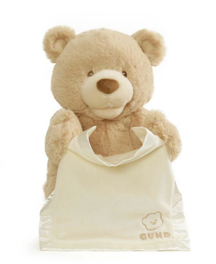 Gund® - Baby Boys or Girls Animated Peek-a-Boo Bear Plush Toy