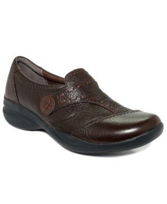 Clarks Womens Shoes In-Motion Camp Flats Womens Shoes