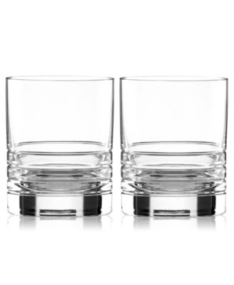 kate spade new york Set of 2 Percival Place Double Old Fashioned Glasses
