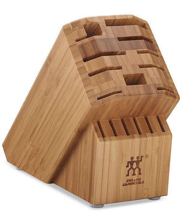 J.A. Henckels Zwilling Pro Bamboo 16-Slot Cutlery Block
