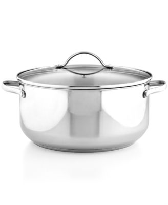 Tools of the Trade Stainless Steel 8 Qt. Casserole with Lid, Only at Macy's