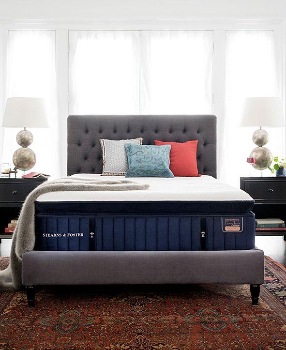 """Stearns & Foster Reserve Hepburn 16"""" Luxury Plush Euro Pillow Top Mattress - King"""