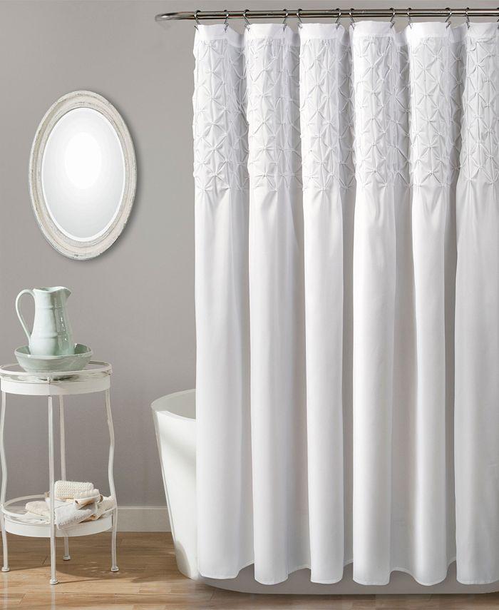 Holstein Cow Shower Curtain black and white designer shower