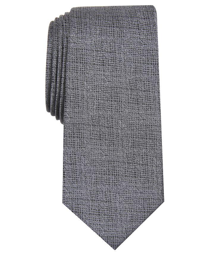 Alfani - Men's Solid Slim Tie