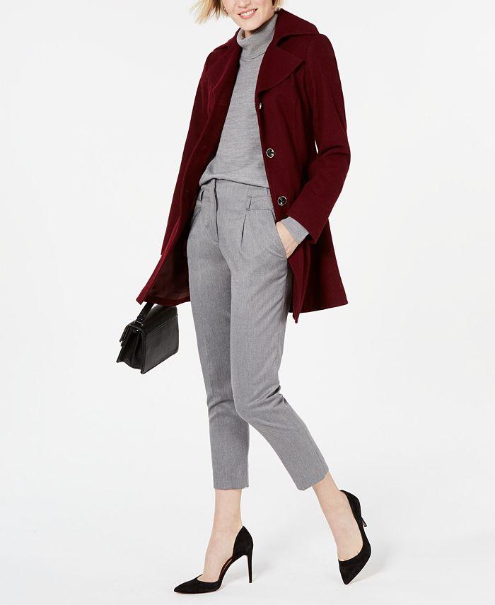 INC International Concepts - Skirted Walker Coat