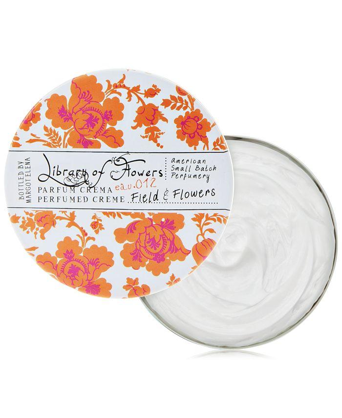 Library of Flowers - Field & Flowers Parfum Crema, 2.5-oz.