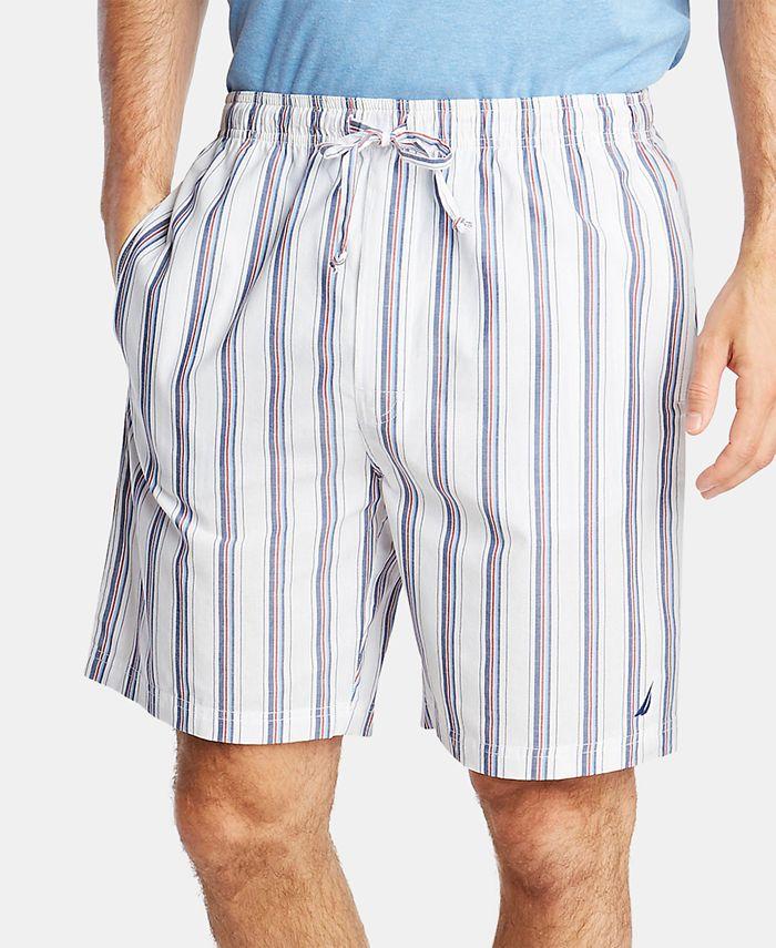 Nautica - Men's Cotton Striped Pajama Shorts