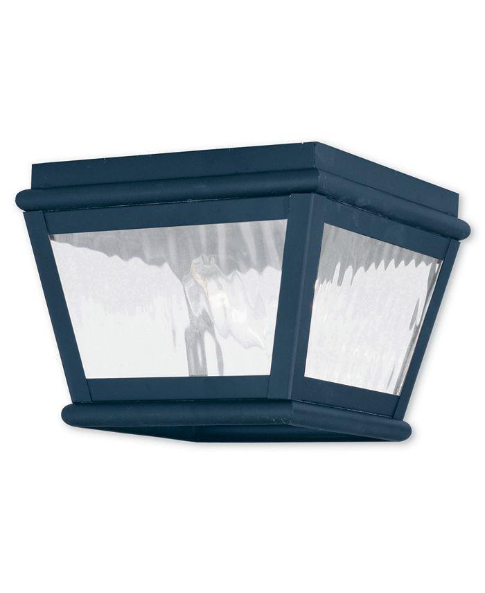 Livex - Exeter 2-Light Outdoor Ceiling Mount