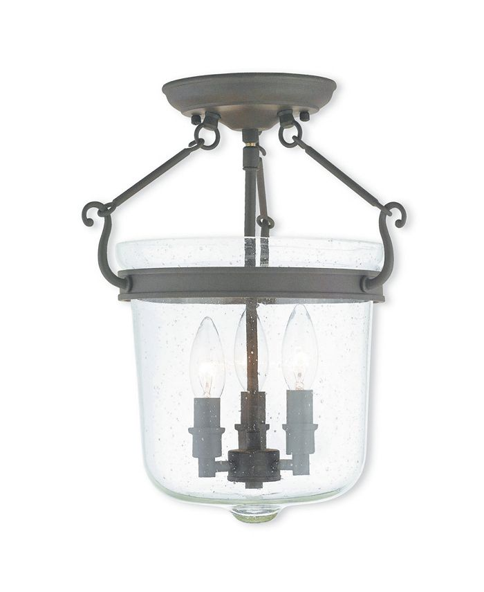 """Livex - Winchester 3-Light 14.75"""" Ceiling Mount"""