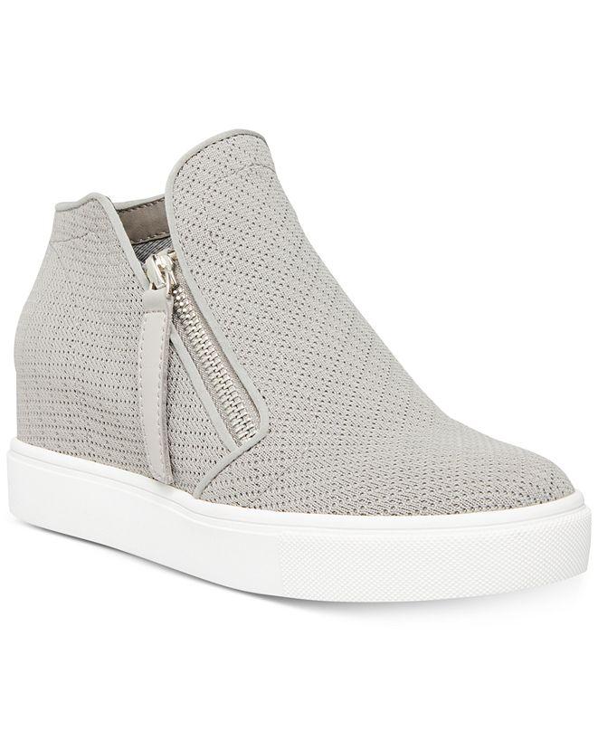 Steve Madden Women's Camden Knit Wedge Sneakers