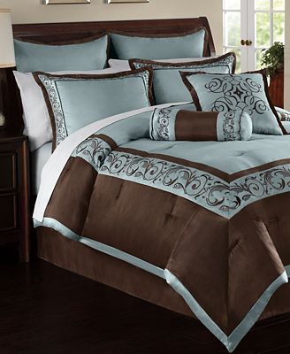 Rosenthal 24 Piece King Comforter Set Bed In A Bag Bed