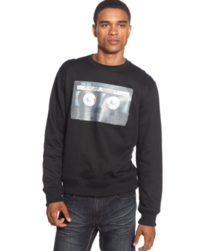 Rocawear Shirt Tape Deck Crew Sweatshirt