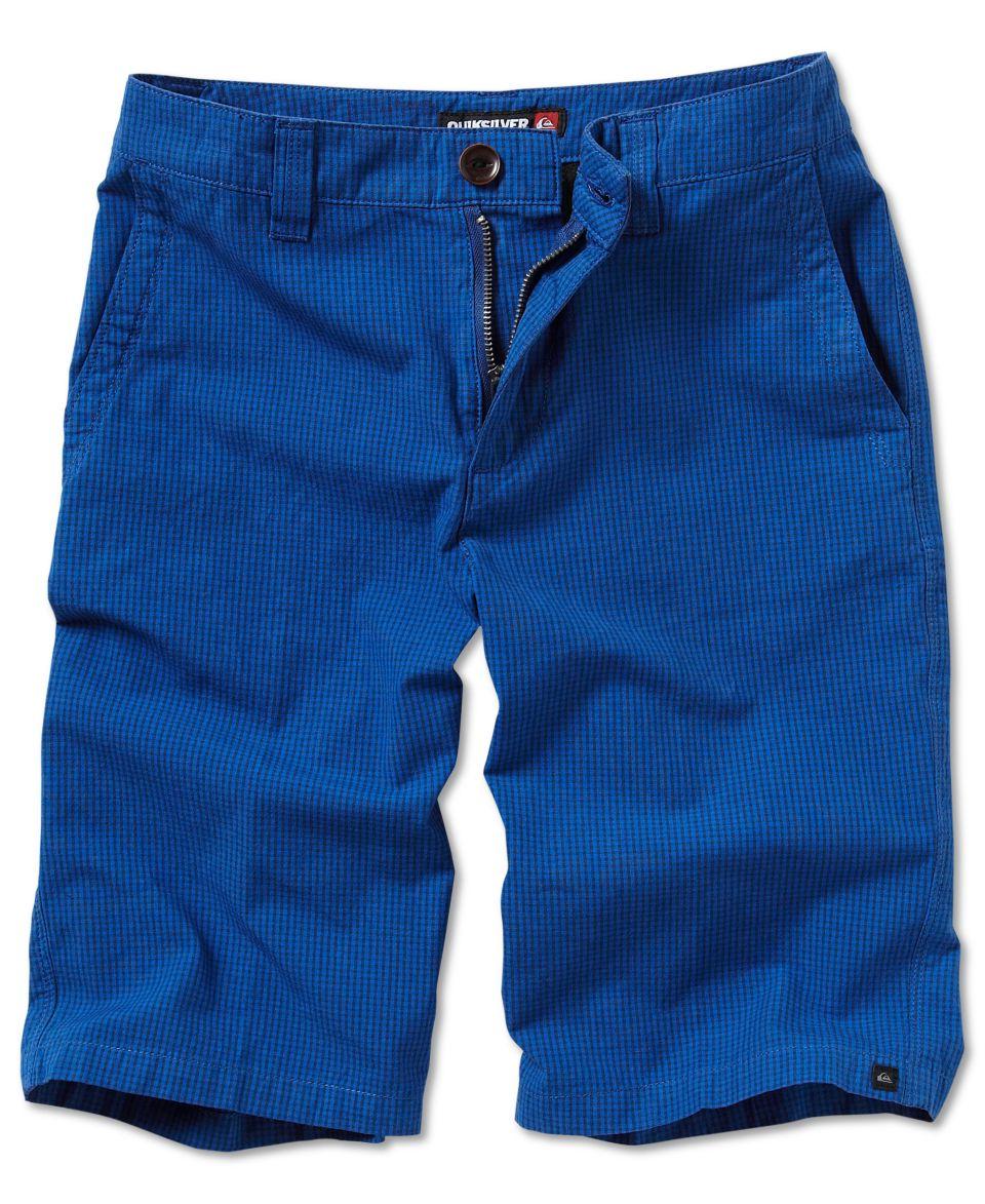 Quiksilver Kids Short, Boys Quiksilver Check It Walk Short