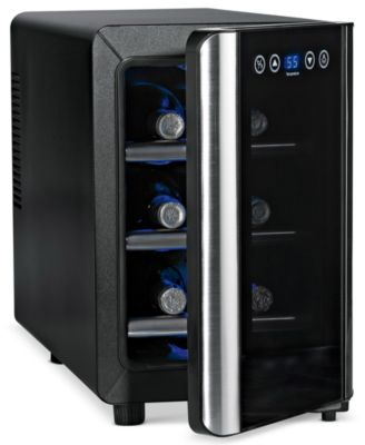Wine Enthusiast 2720307 Wine Cooler, 6 Bottle Touchscreen