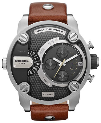 Đồng hồ Diesel Mens SBA Analog Stainless Watch