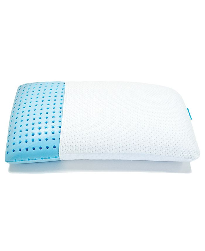 Blu Sleep - Ice Gel Standard Low Profile Pillow