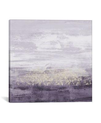 Amethyst Glitter Ii by Jennifer Goldberger Gallery-Wrapped Canvas Print - 37