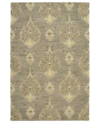 "Brooklyn 5306-27 Taupe 7'6"" x 9' Area Rug"