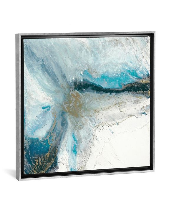 """iCanvas Split Apart by Blakely Bering Gallery-Wrapped Canvas Print - 18"""" x 18"""" x 0.75"""""""