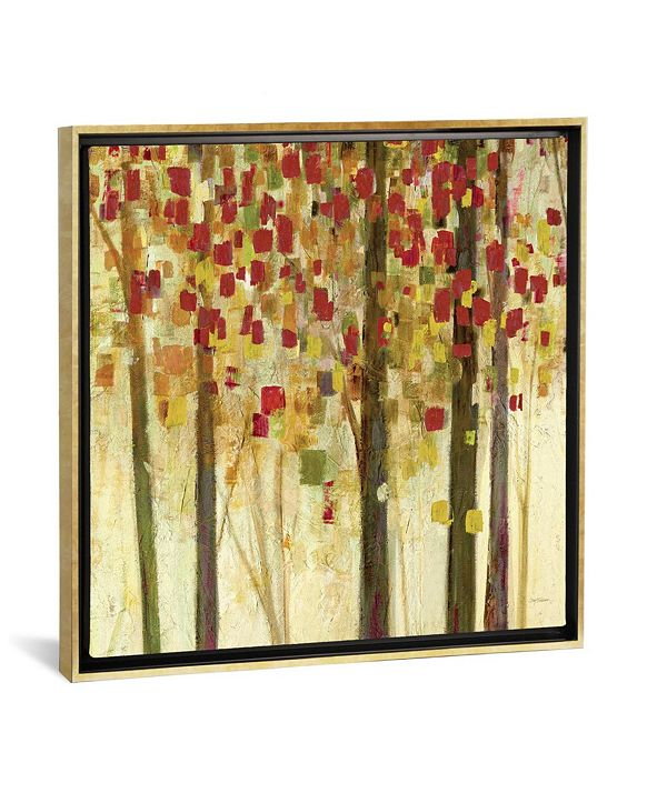 """iCanvas Autumn Shimmer by Carol Robinson Gallery-Wrapped Canvas Print - 18"""" x 18"""" x 0.75"""""""