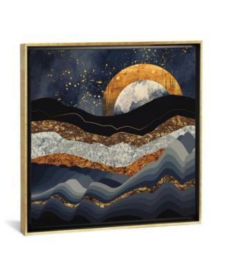 Metallic Mountains by Spacefrog Designs Gallery-Wrapped Canvas Print - 37