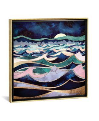 Moonlit Ocean by Spacefrog Designs Gallery-Wrapped Canvas Print - 18