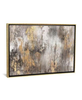 Gold Ikat by Pi Galerie Gallery-Wrapped Canvas Print - 18