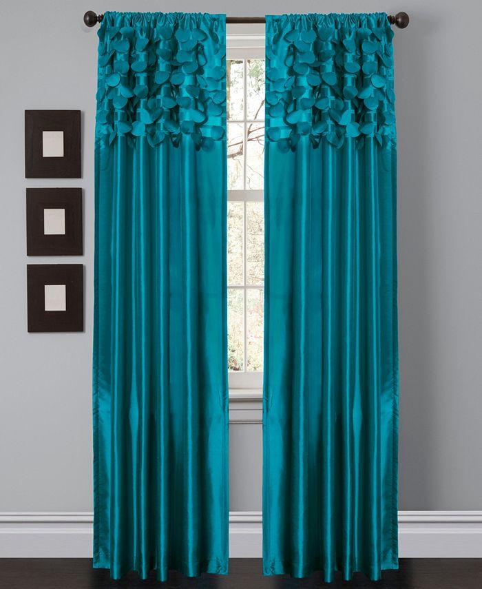 """Lush Décor - Circle Dream 54"""" x 84"""" Window Curtain Set"""