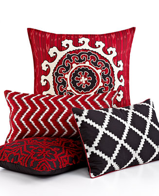 ikat decorative pillows decorative pillows bed bath macy 39 s