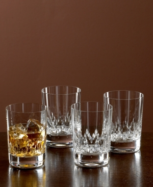 "Vera Wang ""Duchesse"" Double Old-Fashioned Glasses, Set Of 4"