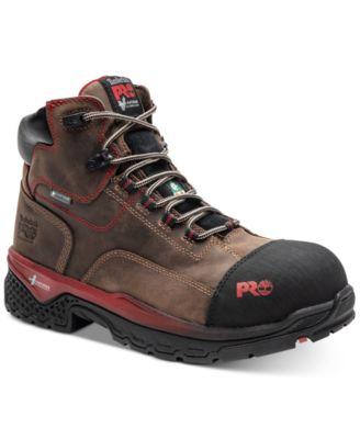 Waterproof Composite-Toe Work Boots