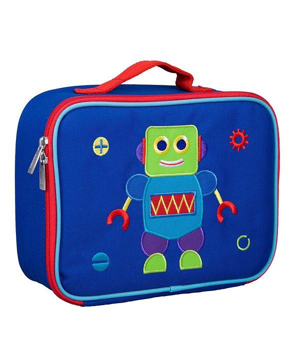 Wildkin Robot Embroidered Lunch Box