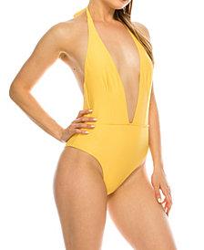 Kendall + Kylie Halter Sash 1 Piece Swimsuit